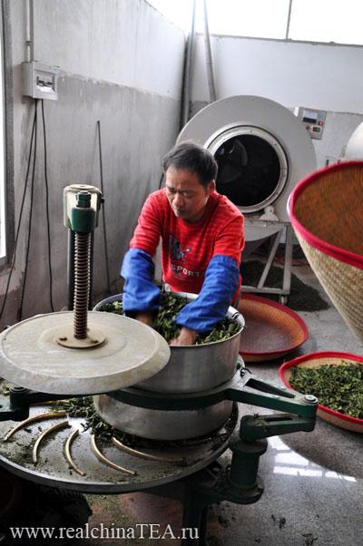 Станок для скручивания чайного листа Тегуаньинь