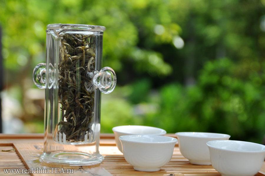 Завариваем чай в чайной колбе