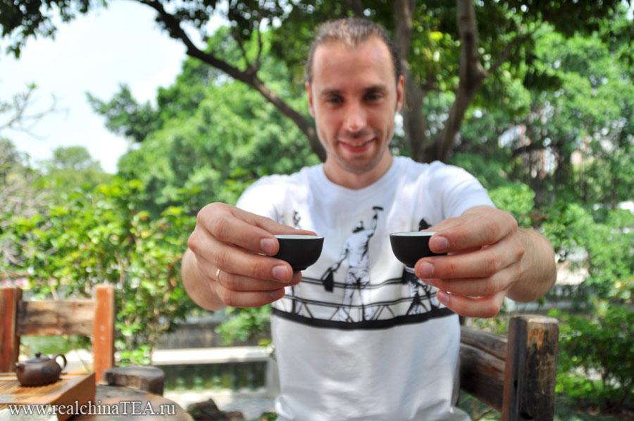 Григорий Потемкин заваривает китайский чай без заморочек