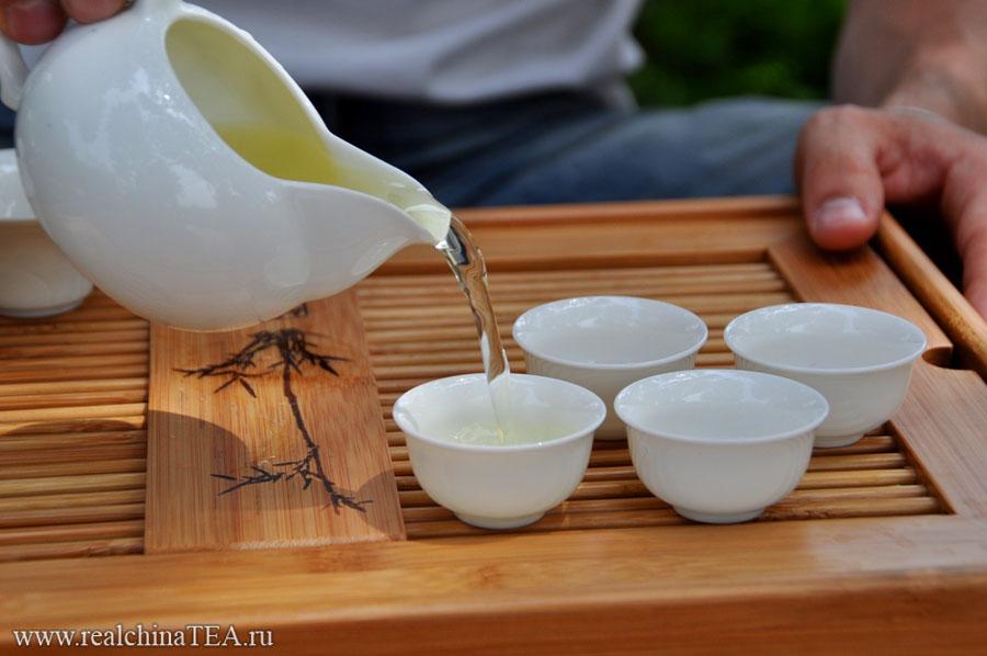 Как заваривается китайский чай