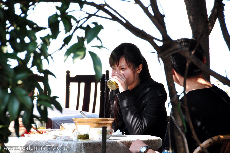 Как пьют чай в провинции Чжэцзян