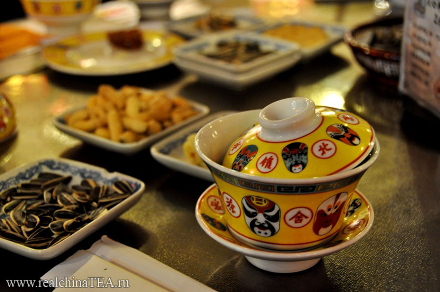 """Если крышка закрывает гайвань, это значит """"все в порядке, у меня еще есть чай""""."""