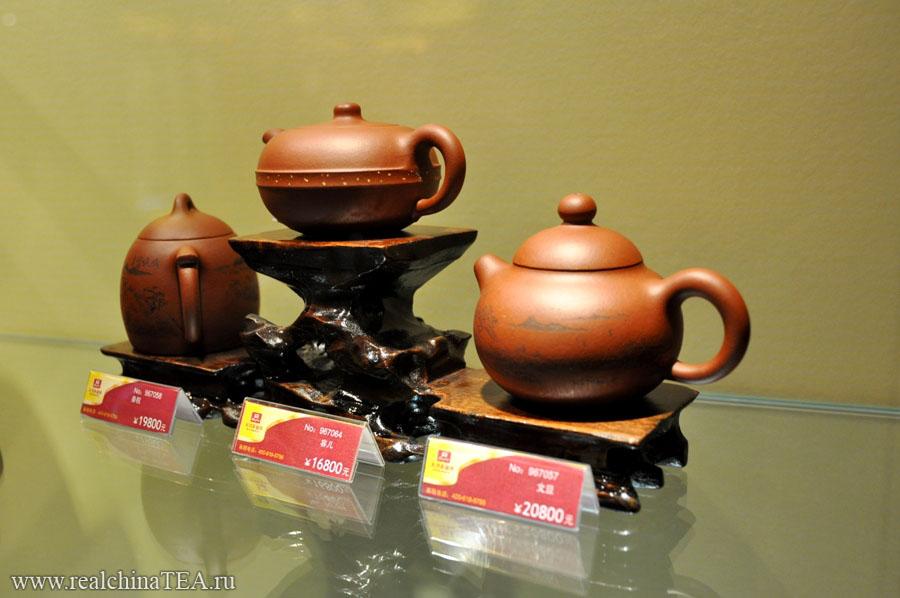 Сколько стоят чайники из исинской глины?