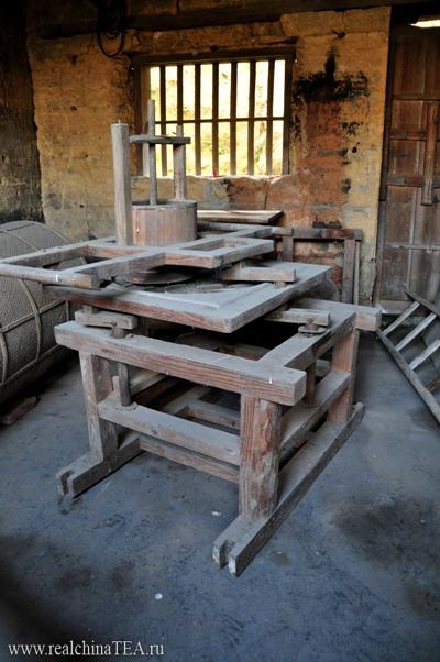 Старое оборудование для производства чая