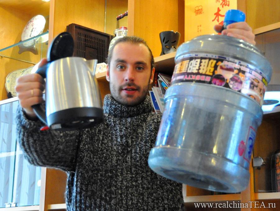 Григорий Потемкин. Как подготовить воду для заваривания китайского чая