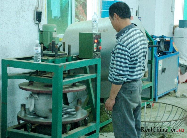 Как производят чай в Китае
