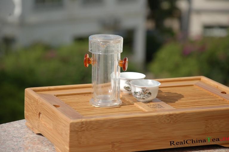Поднос для чайной церемонии из Китая. Григорий Потемкин.