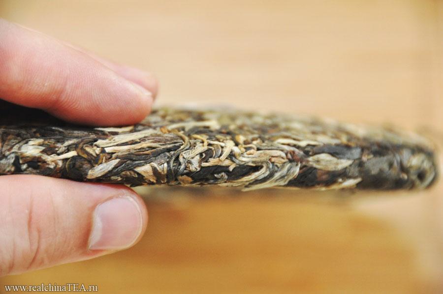 Идеальные аккуратные листочки. Все один к одному. На этот чай просто вкусно смотреть!