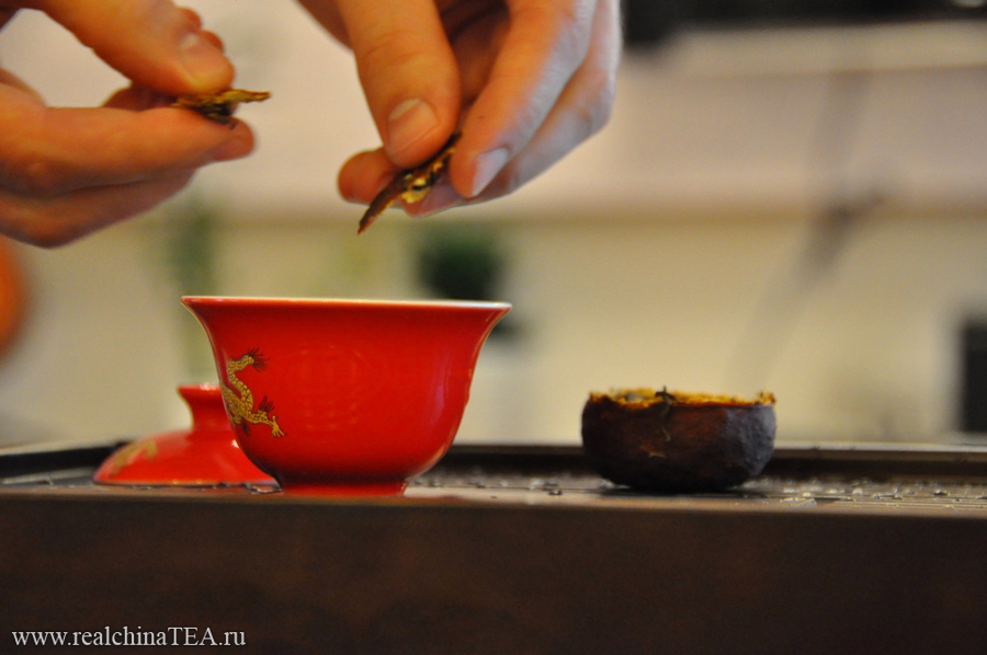 Как правильно заваривать Пуэр в мандарине