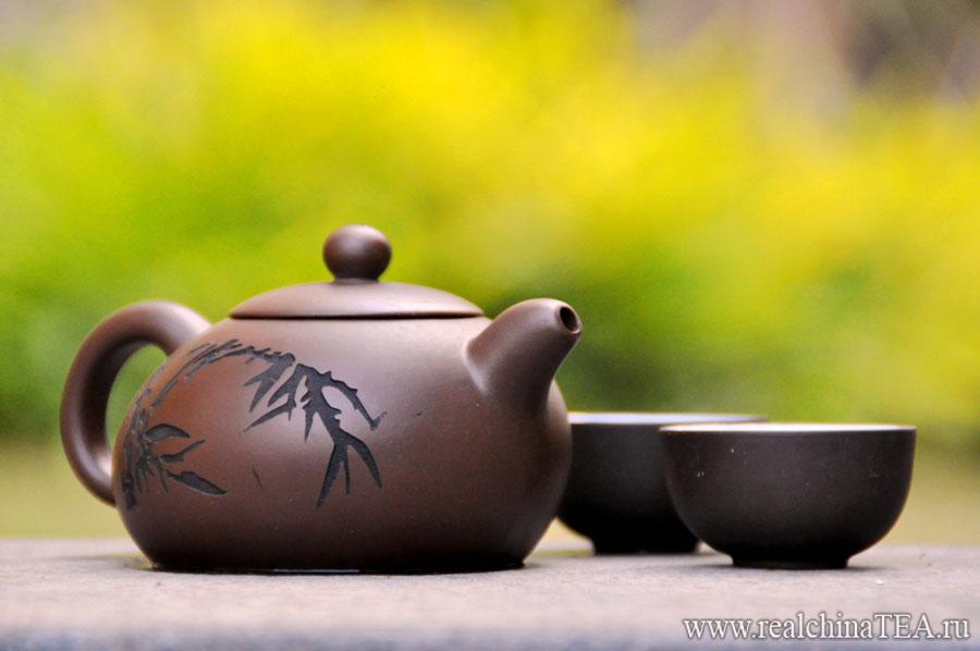 Недорогой и прикольный глиняный чайник www.realchinatea.ru
