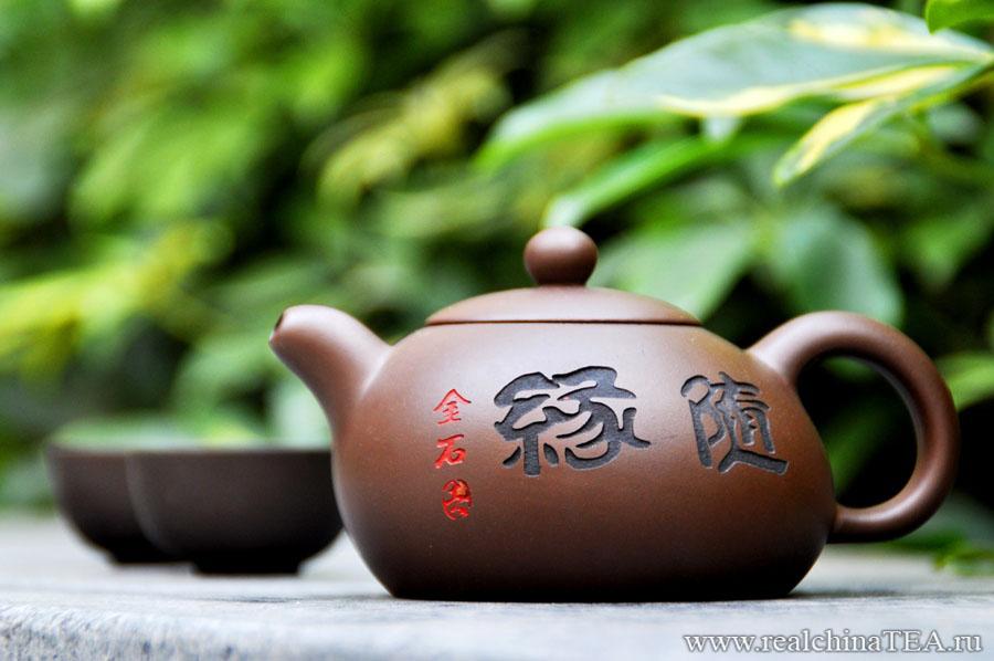 Чайник из глины www.realchinatea.ru
