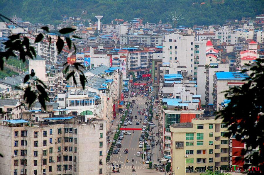 Цзанпин, Китай