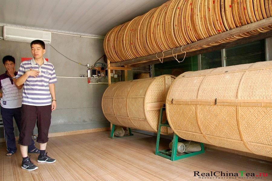 Дом китайского чайного фермера