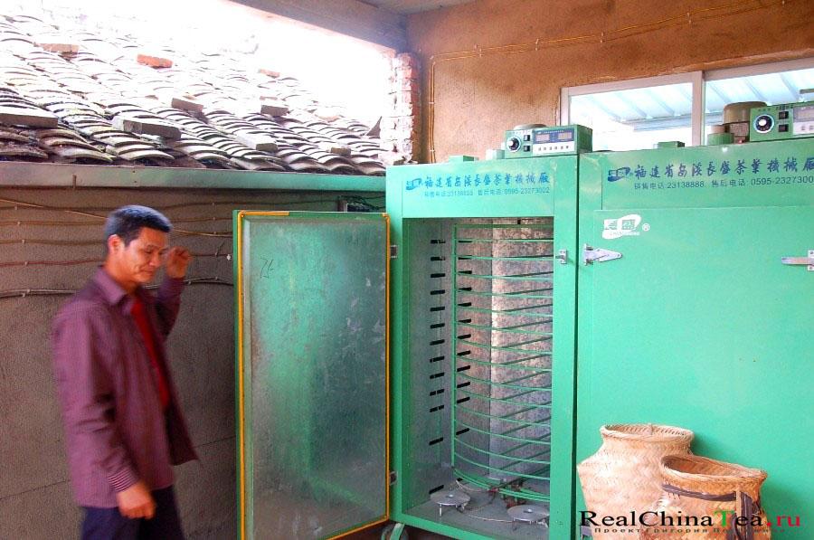 Шкаф для просушки чайного листа