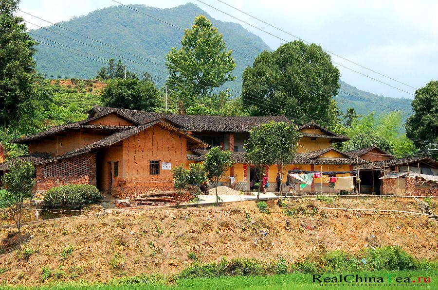 Китайская чайная деревня