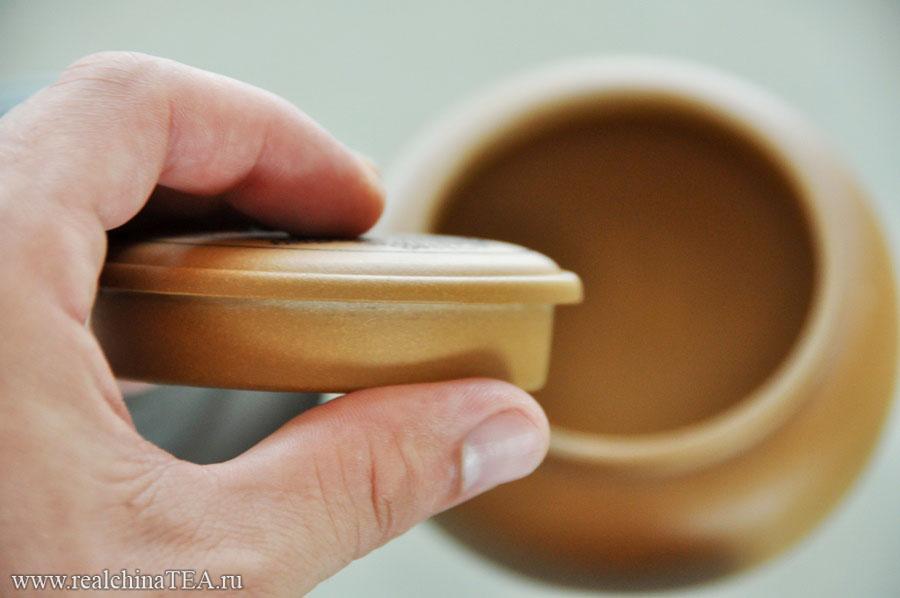 Пористая исинская глина.
