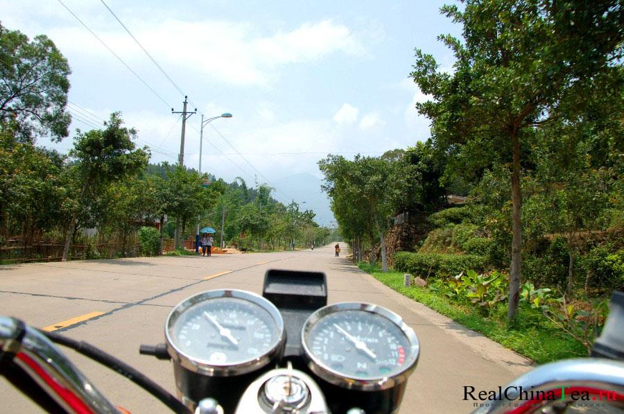 По Китаю на мотоцикле