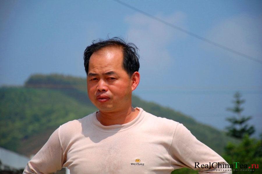 Вань Вей Бин - чайный фермер в Китае