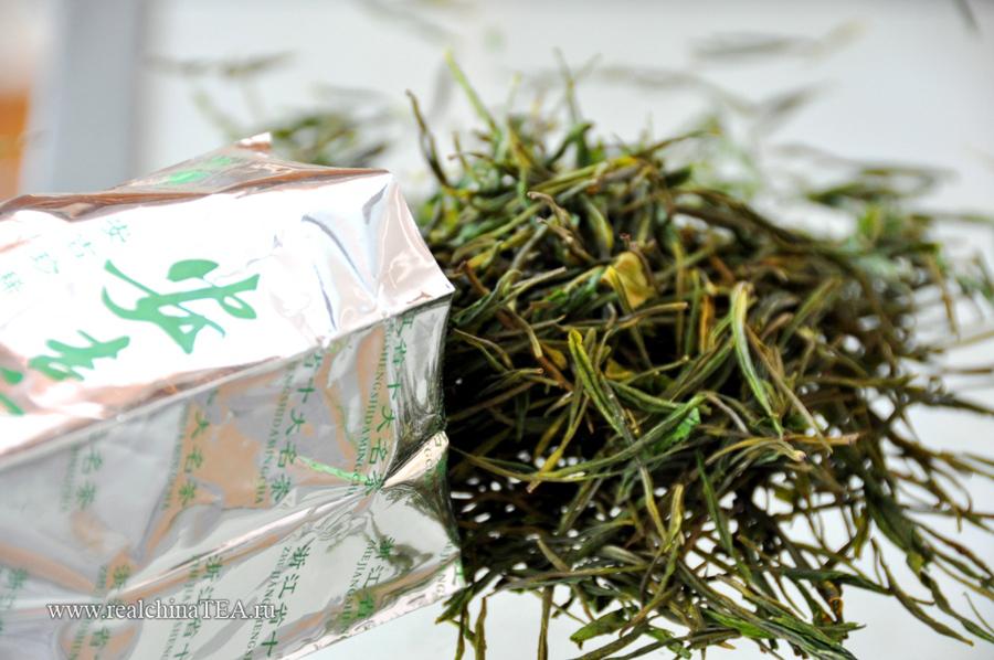 В такой профессиональной чайной упаковке этот чай может довольно долго сохранять свои свойства в отрицательной температуре.
