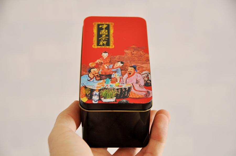 Металлическая баночка для чая www.realchinatea.ru