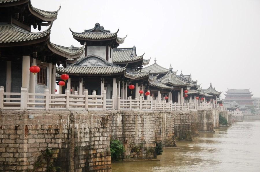 Город Чаочжоу. Провинция Гуандун. Юг Китая.