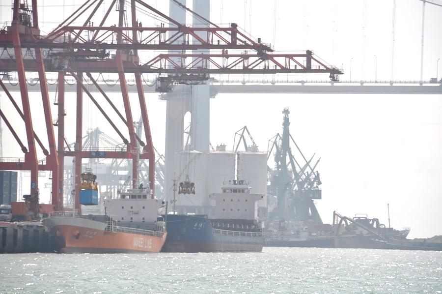 Сямэньский порт.