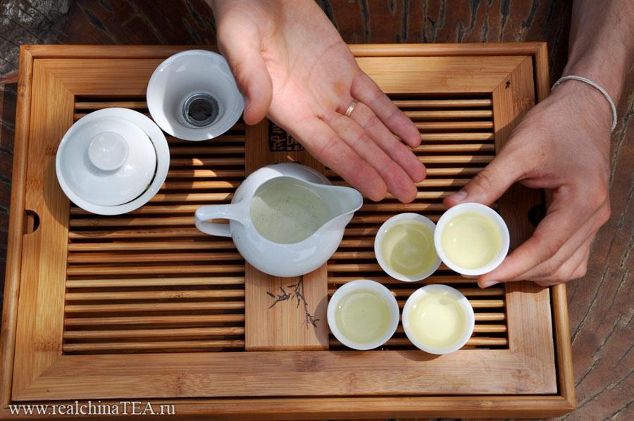 Завариваем китайский чай