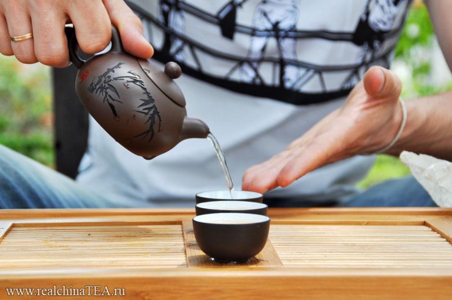 Как заварить Пуэр в исинской глине