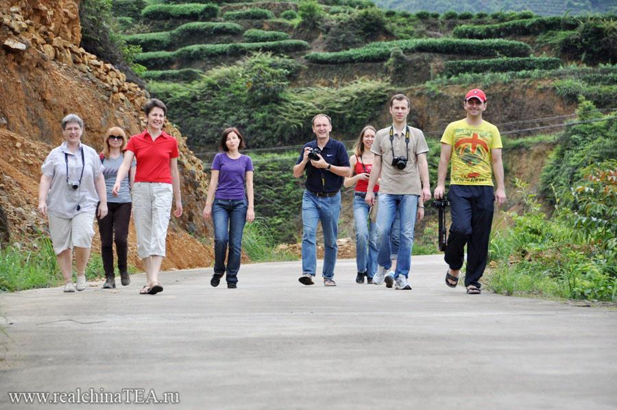 Наша группа. Чайные туры в Китай - весна 2012.