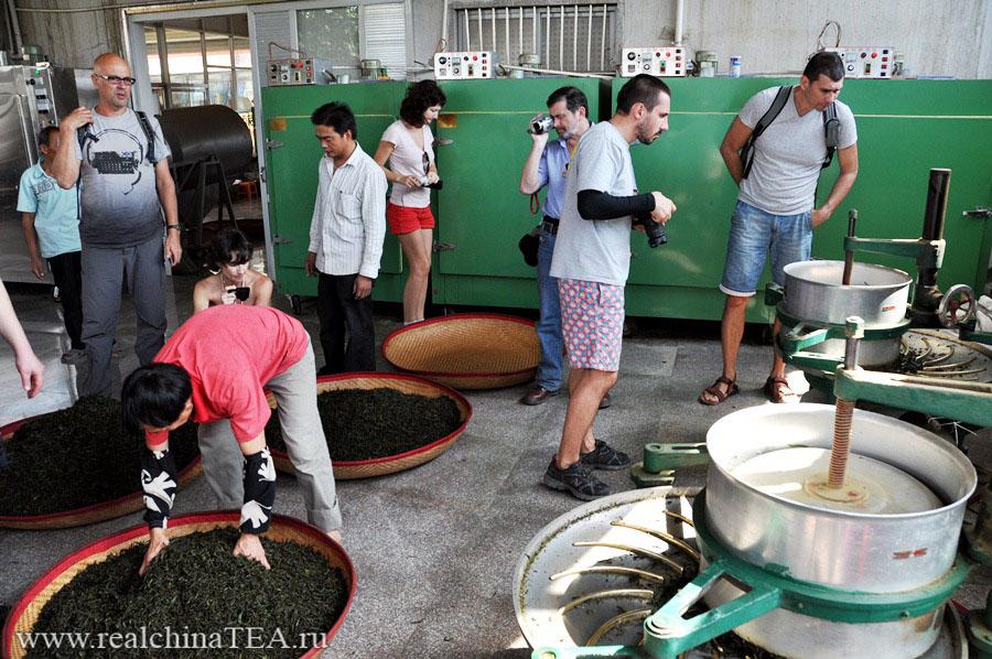 Экскурсия на мануфактуру по производству чая Тегуаньинь