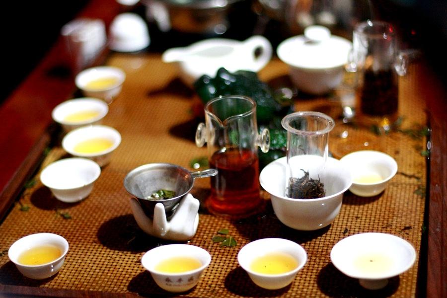 Дегустация чая Тегуаньинь