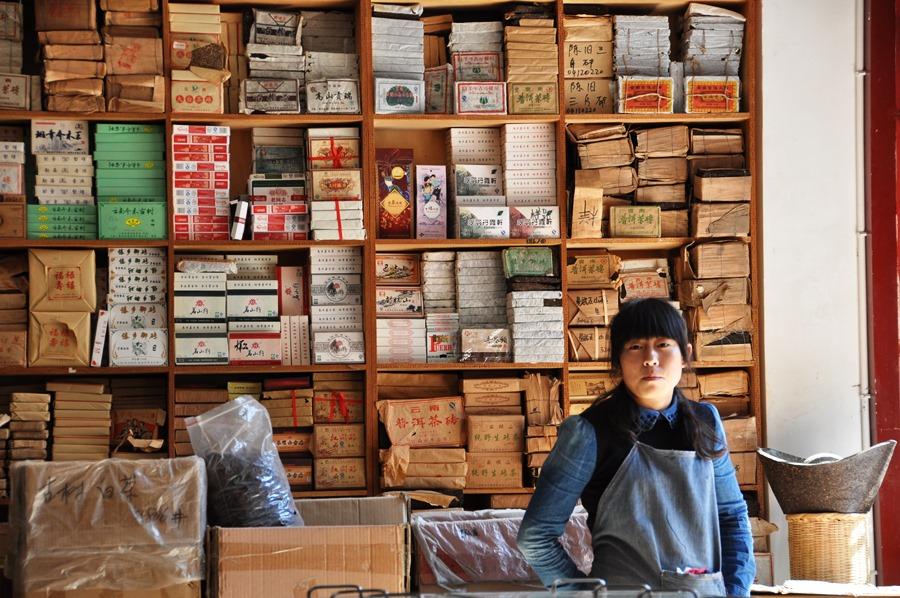 Чайный рынок в Куньмине. Огого! Огогогогогогоооо! www.realchinatea.ru