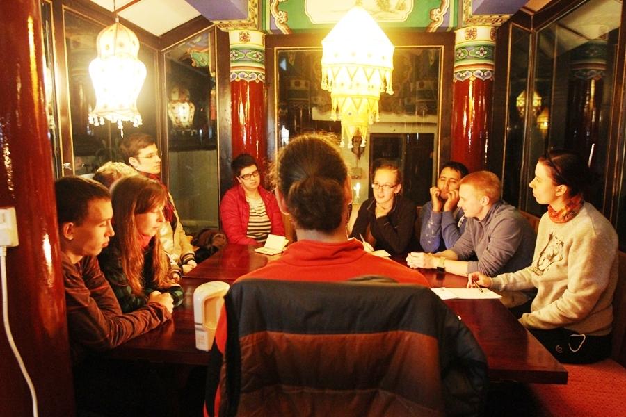 Вечернее чайное занятие www.realchinatea.ru