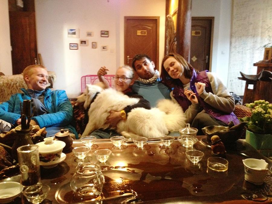 Сережа, Алиса, Мартин, и Даша!