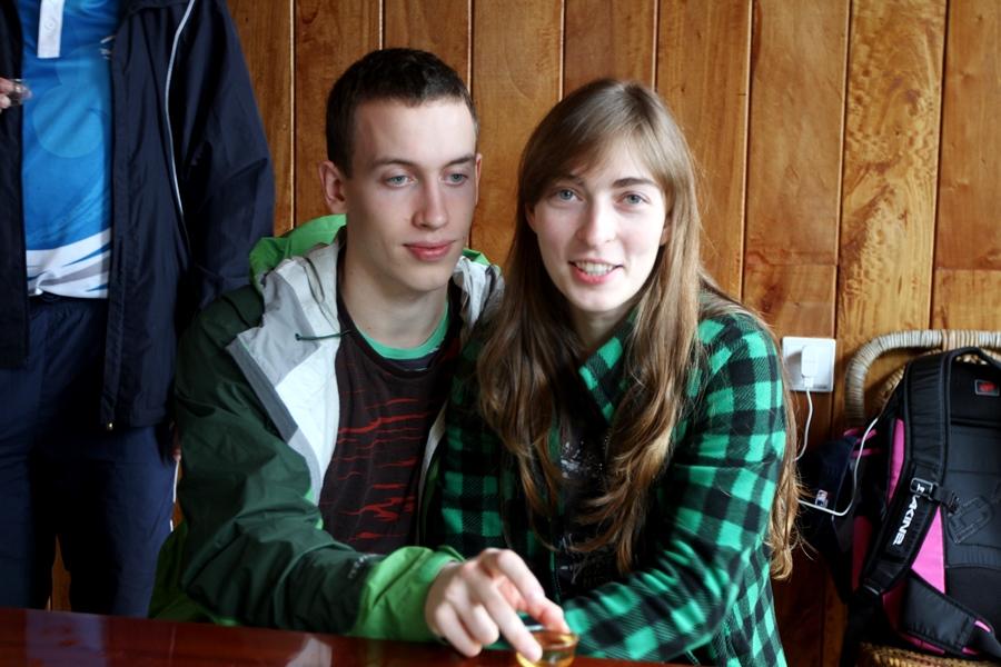 Леша и Галина