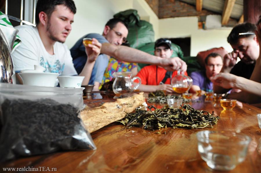 А потом сами же и пили свежий Маоча. Это очень интересные вкусы.