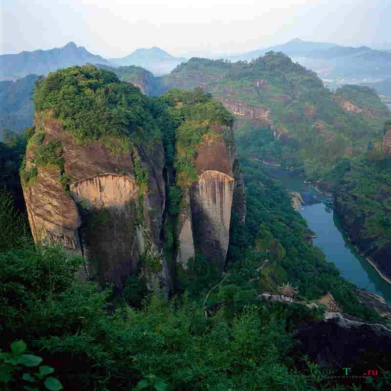 Уи Шань, Китай