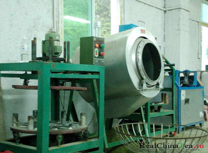 Производство зеленого чая