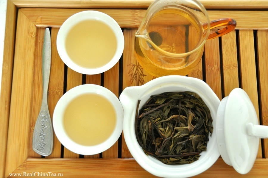 Шэн Пуэр古树把把饼 (Gu Shu BaBa Bing). Красивый и ароматный чай.