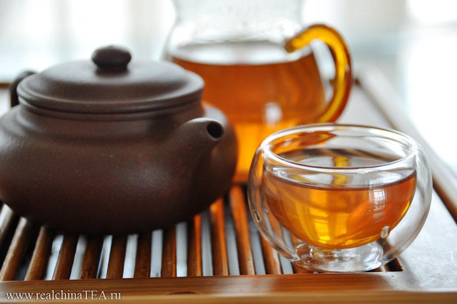 Черное золото (黑金). Китайский красный чай.