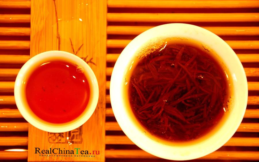 Красный чай Цзинь Цзюнь Мэй 金骏眉 – «золотые брови»