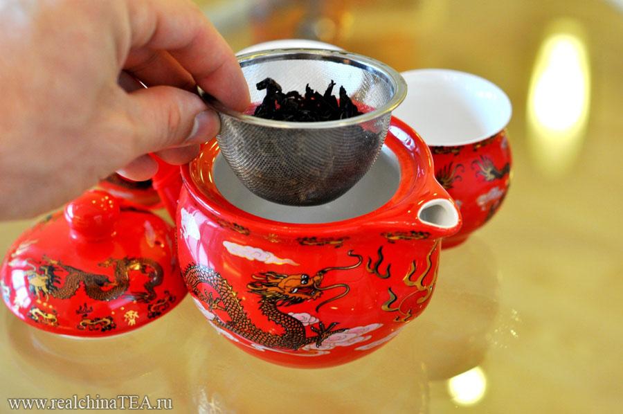 """Благодаря этому ситечку вы можете заваривать чай методом """"пролива""""."""