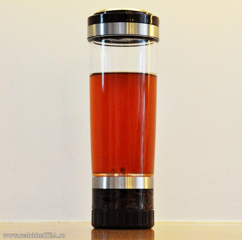 Многофункциональный стакан-заварочник для заварки китайского чая в офисных условиях