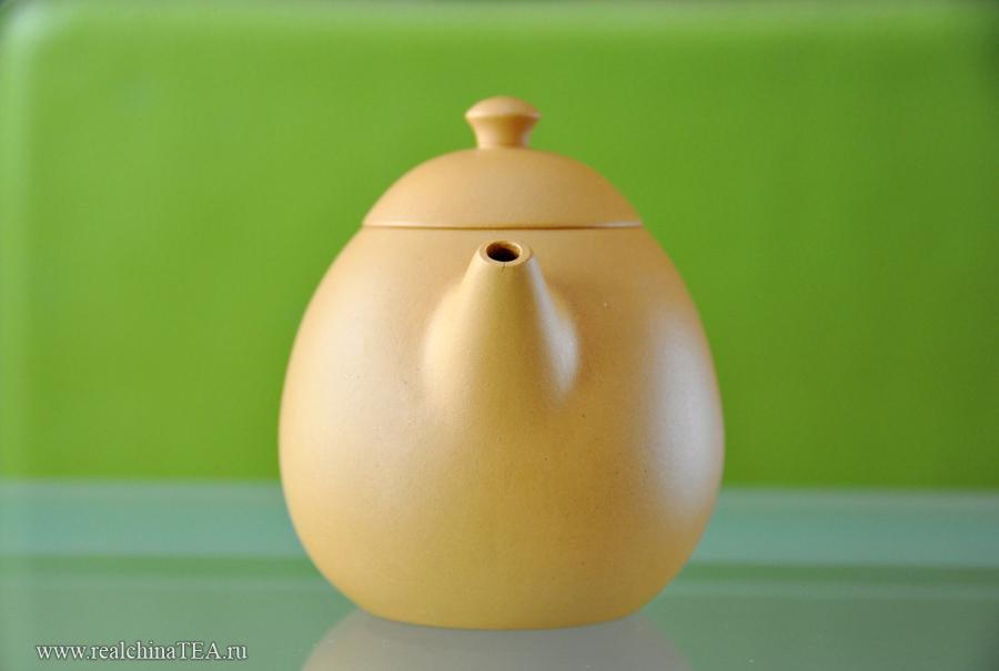 Он выполнен в форме идеального яйца.