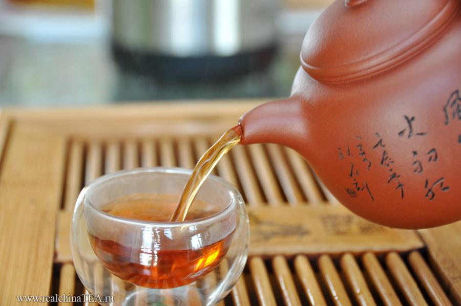 """Ес? Однозначно ес! Это зачет! Внутри - красный чай """"золотые брови""""."""