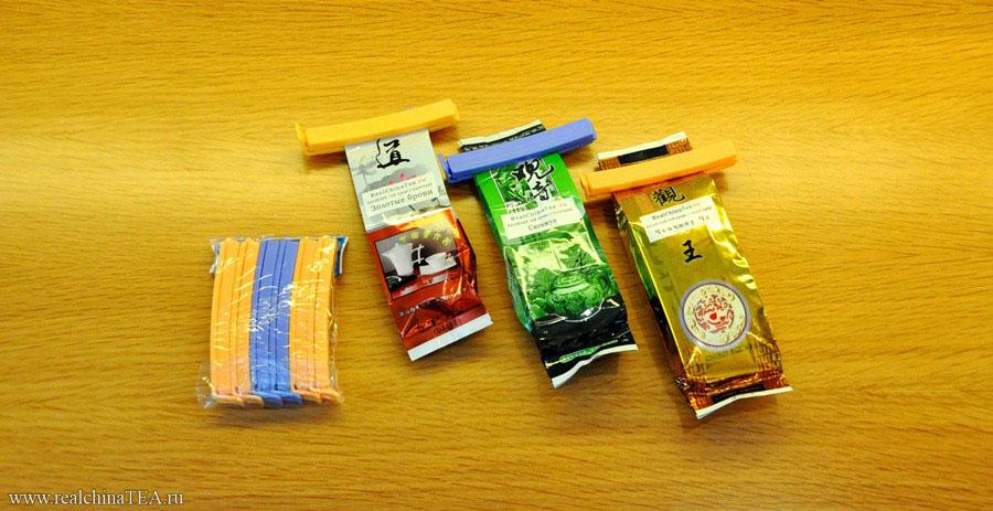 Зажималки для чайных пакетов