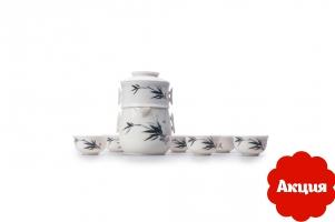 Фото Японский набор для чайной церемонии