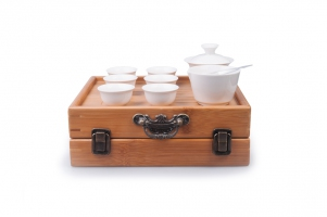 Фото Переносной набор для чайной церемонии