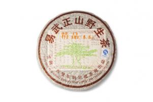 Фото Пуэр (Шен). Yiwu Zhengshan Yesheng Cha. 400 граммов. 2008 год