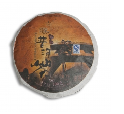 Фото Пуэр (Шу) маленький блин Gupu Puer Bing Shu, 100 граммов, 2007 год